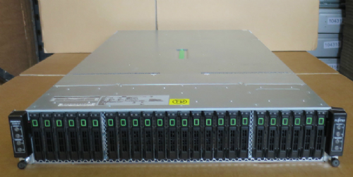 Fujitsu Server PRIMERGY CX400 2U 4x CX250 Blades 8x E5-2630 6-CORE 24x 450GB 10k